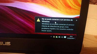 Windows no se pudo conectar al servicio cliente de directiva de grupo