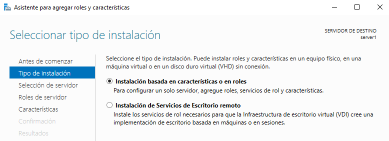 Dhcp en Windows Server 2016