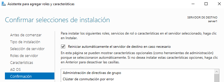 Dhcp en Windows Server 2016