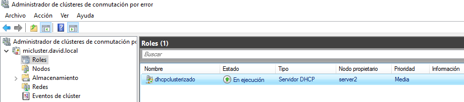 Dhcp Windows server 2016