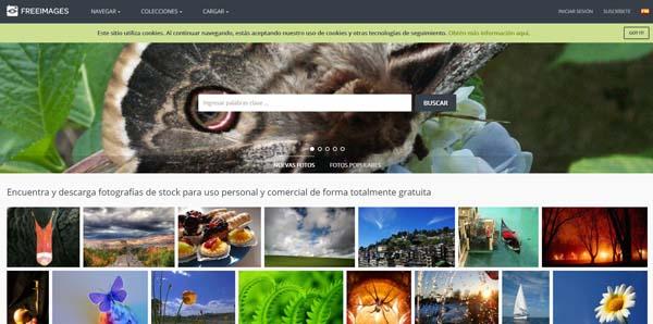 bancos de imagenes gratis freeimages