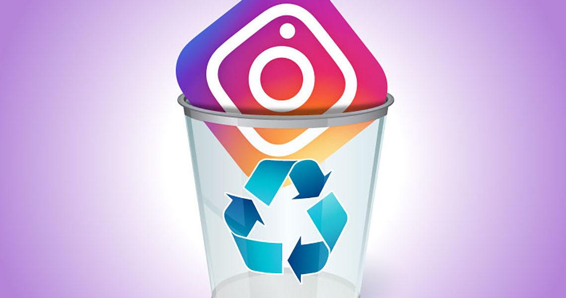 como eliminar una cuenta de instagram